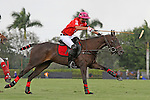 WELLINGTON, FL - MARCH 05: Orchard Hill's Polito Pieres heads down the field in the C V Whitney Cup Final as Valiente defeats Orchard Hill 14 - 11,  at the International Polo Club, Palm Beach on March 05, 2017, in Wellington, Florida. (Photo by Liz Lamont/Eclipse Sportswire/Getty Images)