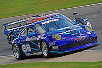 17-19  July, 2009, Birmingham, Alabama USA.#68 TRG Porsche GT3 of Josemanuel Gutierrez & Scott Schroeder .©2009 F.Peirce Williams, USA.