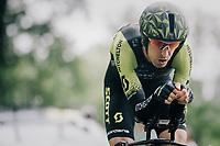 Mikel Nieve (ESP/Mitchelton-Scott)<br /> <br /> Stage 20 (ITT): Saint-Pée-sur-Nivelle >  Espelette (31km)<br /> <br /> 105th Tour de France 2018<br /> ©kramon