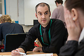 Numeracy class for Job Seekers Allowance claimants run by Rochdale and Oldham Groundwork.