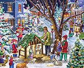 Randy, HOLY FAMILIES, HEILIGE FAMILIE, SAGRADA FAMÍLIA, paintings+++++,USRW353,#xr# ,puzzle,puzzels