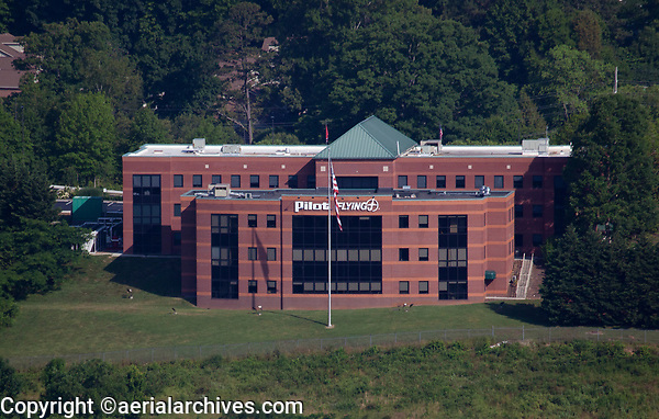 aerial photograph of the corporate headquarters of Pilot Flying J, Knoxville, Knox County, Tennessee