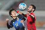 Japan vs Ir Iran during the AFC U23 Championship 2016 Quarter Finals match on January 22, 2016 at the Grand Hamad Stadium in Doha, Qatar. Photo by Karim Jaafar  / Lagardère Sports