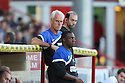 Ipswich manager Mick McCarthy and Terry Connor<br />  Stevenage v Ipswich Town - Capital One Cup First Round - Lamex Stadium, Stevenage - 6th August, 2013<br />  © Kevin Coleman 2013