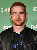 "LOS ANGELES - FEBRUARY 27: Andrew Santino attends the red carpet premiere event for FXX's ""Dave"" at the Directors Guild of America on February 27, 2020 in Los Angeles, California. (Photo by Frank Micelotta/FX Networks/PictureGroup)"