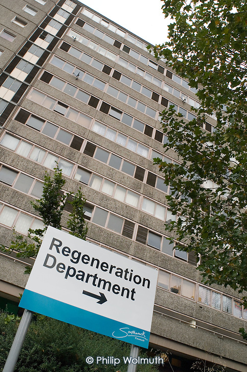 2700 homes on the Aylesbury Estate, in South London, are scheduled for demolition.   Southwark Council plans to redevelop the 28.5 hectare site, one of Europe's largest public housing estates, with a mixture of social and private housing.