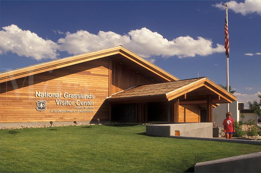 National Grasslands, SD, South Dakota, Badlands, National Grasslands Visitor Center at the Buffalo Gap National Grassland in Wall.