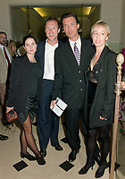 ARCHIVE: CANNES, FRANCE. c. May 1991: Sadie Frost, Gary Kemp, Martin Kemp & Shirlie Holliman at the Cannes Film Festival.<br /> File photo © Paul Smith/Featureflash