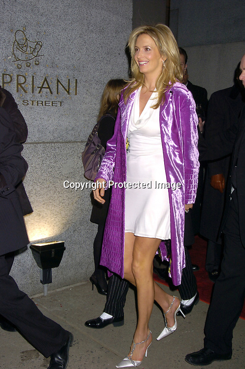 Penny Lancaster and Rod Stewart..at The 2005 Wall Street Concert Series benefitting Wall Street Rising on March 15, 2005 at Cipriani. Rod Stewart was performing tonight. ..Photo by Robin Platzer, Twin Images