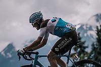 Alexis Gougeard (FRA/AG2R-La Mondiale)<br /> <br /> Stage 6: Frontenex > La Rosière Espace San Bernardo (110km)<br /> 70th Critérium du Dauphiné 2018 (2.UWT)