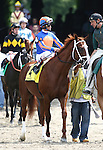 06 June 2009: Munnings and John Velazquez win the 25th running of the Woody Stephens Stakes at Belmont Park in Elmont, New York. ...