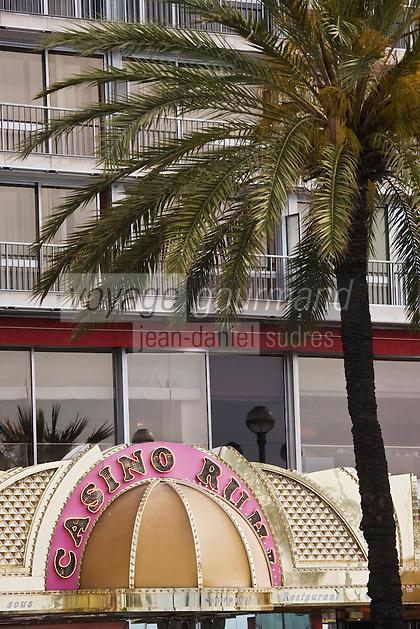 Europe/France/Provence-Alpes-Côte d'Azur/06/Alpes-Maritimes/Nice:  Hôtel: Méridien et Casino Ruhl