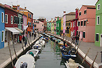 Burano is the most colorful of the lagoon islands.