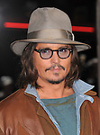 Johnny Depp attends The Paramount Pictures' L.A. Premiere of RANGO held at The Regency Village Theatre in Westwood, California on February 14,2011                                                                               © 2010 DVS / Hollywood Press Agency