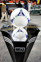 MLS game ball. Sporting Kansas City defeated D.C. United  1-0 at RFK Stadium, Saturday March 10, 2012.
