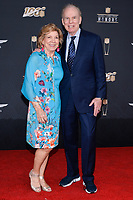MIAMI, FL - FEBRUARY 1: Marianne Staubach and Roger Staubach attend the 2020 NFL Honors at the Ziff Ballet Opera House during Super Bowl LIV week on February 1, 2020 in Miami, Florida. (Photo by Anthony Behar/Fox Sports/PictureGroup)