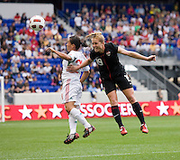 Rachel Buehler, Monica Ocampo. The USWNT defeated Mexico, 1-0, during the game at Red Bull Arena in Harrison, NJ.