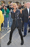 Octber 3 2017, PARIS FRANCE the Louis Vuitton Show at the Paris Fashion Week<br /> Spring Summer 2017/2018. Actor Jaden Smith arrives at the show.