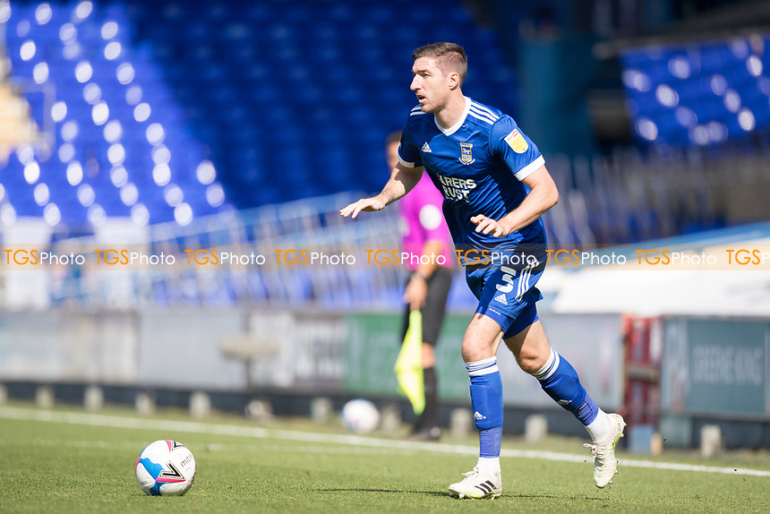 Stephen Ward of Ipswich Town in action during Ipswich Town vs Wigan Athletic, Sky Bet EFL League 1 Football at Portman Road on 13th September 2020
