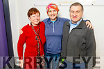 Kathleen Simmons with Breda and Martin Quirke from Camp at the Kerry Sports Academy Open Day at the I T Tralee on Saturday.