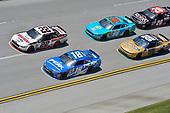 NASCAR Xfinity Series<br /> Sparks Energy 300<br /> Talladega Superspeedway, Talladega, AL USA<br /> Saturday 6 May 2017<br /> Joey Logano, Discount Tire Ford Mustang, Daniel Suarez, Peak Antifreeze & Coolant Toyota Camry.<br /> World Copyright: John K Harrelson<br /> LAT Images<br /> ref: Digital Image 17TAL1jh_01734