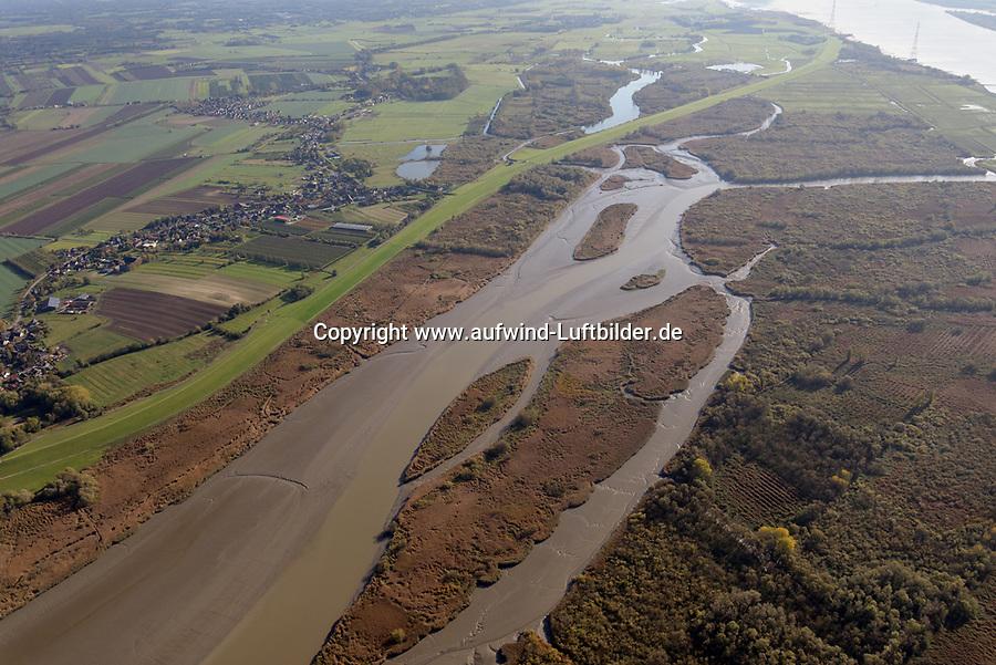 Haseldorfer Binnenelbe: EUROPA, DEUTSCHLAND, SCHLESWIG- HOLSTEIN, (GERMANY), 29.10.2019: Haseldorfer Binnenelbe
