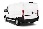Car pictures of rear three quarter view of a 2018 Peugeot Boxer Pro 5 Door Cargo Van angular rear