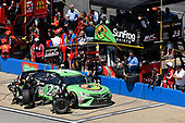Monster Energy NASCAR Cup Series<br /> GEICO 500<br /> Talladega Superspeedway, Talladega, AL USA<br /> Sunday 7 May 2017<br /> Gray Gaulding, BK Racing, SunFrog.com Toyota Camry<br /> World Copyright: Nigel Kinrade<br /> LAT Images<br /> ref: Digital Image 17TAL1nk05942