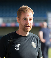 Simon Weaver, Manager, Harrogate Town,  during Southend United vs Harrogate Town, Sky Bet EFL League 2 Football at Roots Hall on 12th September 2020