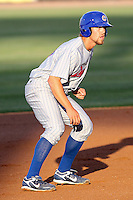 Outfielder Brett Jackson of the Daytona Cubs. Single-A Florida State League affiliate of the Chicago Cubs,during a game at George M. Steinbrenner Field in Tampa, FL. Photo by: Mark LoMoglio/Four Seam Images
