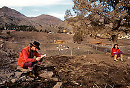 Wasco, Oregon, February 1984: Disciples of Bhagwan Rajneesh spending time in a farm in Rajneeshpuran.  Rajneeshpuram, was an intentional community in Wasco County, Oregon, briefly incorporated as a city in the 1980s, which was populated with followers of the spiritual teacher Osho, then known as Bhagwan Shree Rajneesh. The community was developed by turning a ranch from an empty rural property into a city complete with typical urban infrastructure, with population of about 7000 followers.