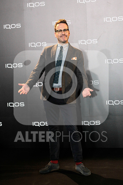 Joaquin Reyes attends to IQOS3 presentation at Palacio de Cibeles in Madrid. February 10,2019. (ALTERPHOTOS/Alconada)