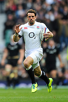 Ben Foden of England in action during the QBE Autumn International match between England and New Zealand at Twickenham on Saturday 16th November 2013 (Photo by Rob Munro)