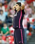 FC Barcelona's Luis Suarez during La Liga match. August 28,2016. (ALTERPHOTOS/Acero)