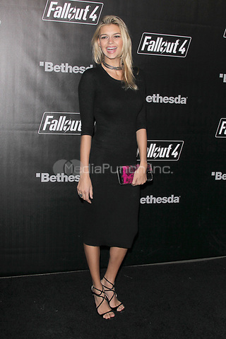 LOS ANGELES, CA - NOVEMBER 5: Kelly Rohrbach at the Fallout 4 video game launch event in downtown Los Angeles on November 5, 2015 in Los Angeles, California. Credit: mpi21/MediaPunch