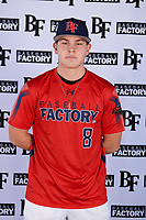 Steven Loden (8) of Wissahickon High School in Ambler, Pennsylvania during the Baseball Factory All-America Pre-Season Tournament, powered by Under Armour, on January 12, 2018 at Sloan Park Complex in Mesa, Arizona.  (Mike Janes/Four Seam Images)