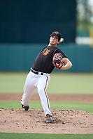 GCL Orioles starting pitcher Garrett Farmer (44) during a Gulf Coast League game against the GCL Red Sox on July 29, 2019 at Ed Smith Stadium in Sarasota, Florida.  GCL Red Sox defeated the GCL Pirates 9-1.  (Mike Janes/Four Seam Images)