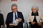 """MASSIMO D'ALEMA ED EMMA BONINO<br /> CONVEGNO """"THINKING DEMOCRACY NOW"""" DELLA FONDAZIONE FELTRINELLI <br /> CENTRO STUDI AMERICANI ROMA 2020"""