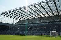 28th August 2021; St James Park, Newcastle upon Tyne, England; EPL Premier League football, Newcastle United versus Southampton; General stadium view