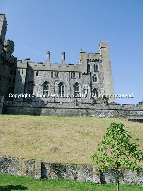 Arundel Castle, Sussex.  Built at the end of the 11th century by Roger de Montgomery, Earl of Arundel.