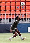 Atletico de Madrid's Thomas Lemar during training session. April 29,2021.(ALTERPHOTOS/Atletico de Madrid/Pool)