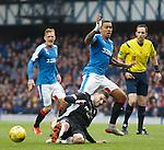 Kyle Hutton tackles James Tavernier