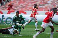 8th November 2020; Beira-Rio Stadium, Porto Alegre, Brazil; Brazilian Serie A, Internacional versus Coritiba; Nonato of Internacional turns to celebrate his goal in the 59th minute for 2-1