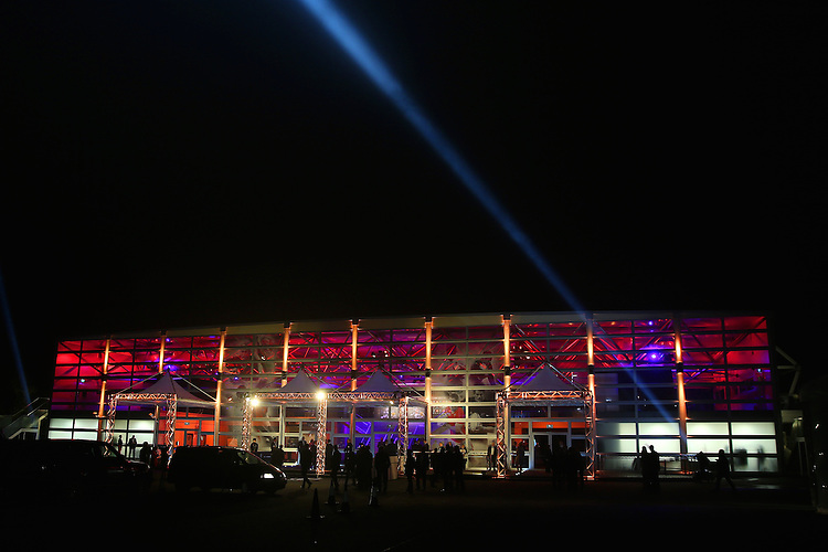 LONDON, ENGLAND - NOVEMBER 01:  A general view of the venue exterior during the World Rugby Awards 2015 at Battersea Evolution on November 1, 2015 in London, England.  (Photo: World Rugby)