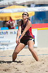 OFFENBACH, GERMANY - AUGUST 19: Day 2 at the Hessenfinale Beachvolleyball 2012 at Ring Center on August 19, 2012 in Offenbach, Germany. (Photo by Dirk Markgraf)