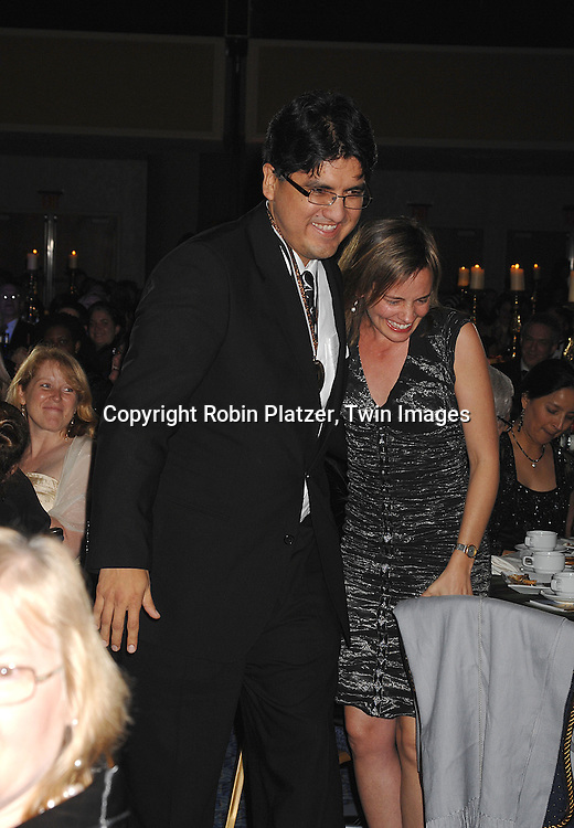 Sherman Alexie, winner of Young People's Literature..at The National Book Awards on November 14, 2007 at ..the Marriott Marquis Hotel in New York, The event was hosted by Fran Lebowitz...Robin Platzer, Twin Images......