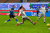 inter-bologna - milano 5 dicembre 2020 - 10° giornata serie A - nella foto: hakimi segna il gol 2-0