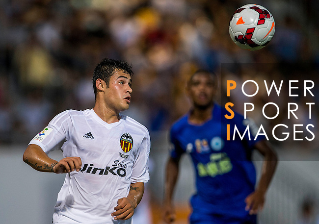 Vinicius Araujo of Valencia CF in action during LFP World Challenge 2014 between Valencia CF vs BC Rangers FC on May 28, 2014 at the Mongkok Stadium in Hong Kong, China. Photo by Victor Fraile / Power Sport Images