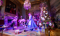 BNPS.co.uk (01202 558833)<br /> Pic: PhilYeomans/BNPS<br />  <br /> Hedgehog Croquet anyone...?<br /> <br /> An Alice in Wonderland spectacular takes over historic Blenheim Palace in Oxfordshire this Christmas ...<br /> <br /> Britains only non-royal Palace has been transformed into a sound and light fantasy vision of the famous Lewis Carol Victorian novel, complete with a real life Alice to show the visitors around.<br /> <br /> Sir Winston Churchill's birthplace has been decked out with its own rabbit-hole corridor, hall of mirrors and pool of tears.<br /> <br /> Its famous long library is the scene of the Mad Hatter's Tea Party, while White Rabbit can be found in the sitting room.