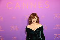 Susan Sarandon - CANNES 2017 - RED CARPET DU DINER DE GALA